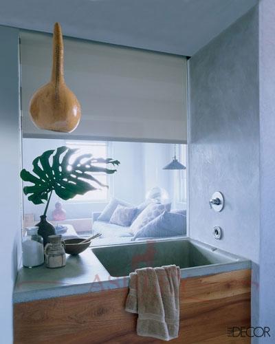 Шоколадный блюз: сочетание голубого и коричневого, часть 2 - спальня.