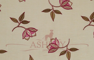 Persian Flower Cerise 5146 James Hare Limited Ashburn Silks Ткани для штор Англия