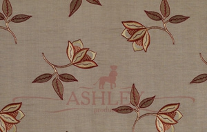 Persian Flower Chilli 5152 James Hare Limited Ashburn Silks Ткани для штор Англия