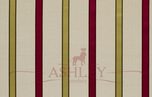 Ribbon Stripe Cerise 5158 James Hare Limited Ashburn Silks Ткани для штор Англия