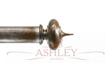 Alton-Sand-and-Silver-Metro Byron & Byron Classic Wood  Curtain Poles 55-67 Декоративные карнизы Англия