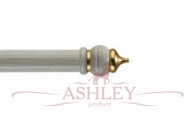 Byzantium-Ivory-Scratched Byron & Byron Classic Wood Curtain Poles 33-43 Декоративные карнизы Англия