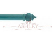 Byzantium-Turquoise Byron & Byron Classic Wood Curtain Poles 33-43 Декоративные карнизы Англия