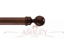 Globe-Jacobean-Pine Byron & Byron Classic Wood Curtain Poles 33-43 Декоративные карнизы Англия