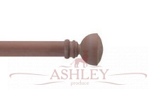 Pompeii-Neutral Byron & Byron Classic Wood Curtain Poles 33-43 Декоративные карнизы Англия