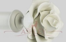 floral rom rose new white-43mm Byron & Byron Floral-Romantic Декоративные карнизы Англия