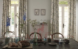 Abbeville FB Dining Room Main V2 Sanderson Fabienne - Prints & Weaves Ткани для штор Англия
