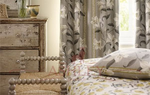 Lilium FB Curtain Focus Sanderson Sojourn - Prints & Embroideries Ткани для штор Англия