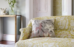 Poppy Damask FB Sofa Focus Ткани Sanderson Sojourn - Prints & Embroideries Ткани для штор Англия